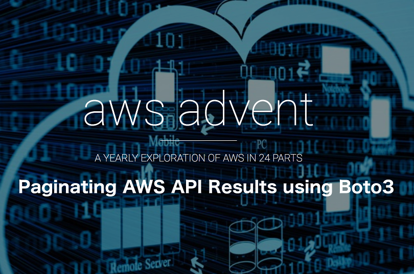 Paginating AWS API Results using the Boto3 Python SDK