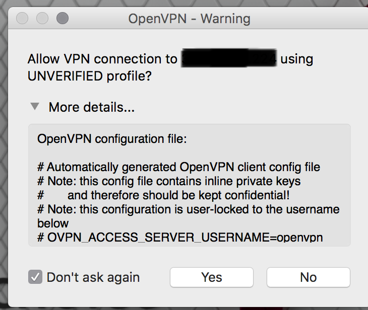 Securely connecting to your AWS Environment using OpenVPN Access