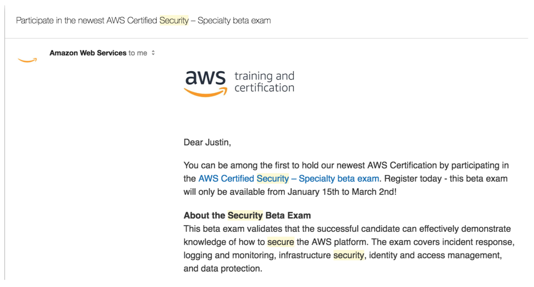 New Aws Security Certification Exams Now Available 1strategy