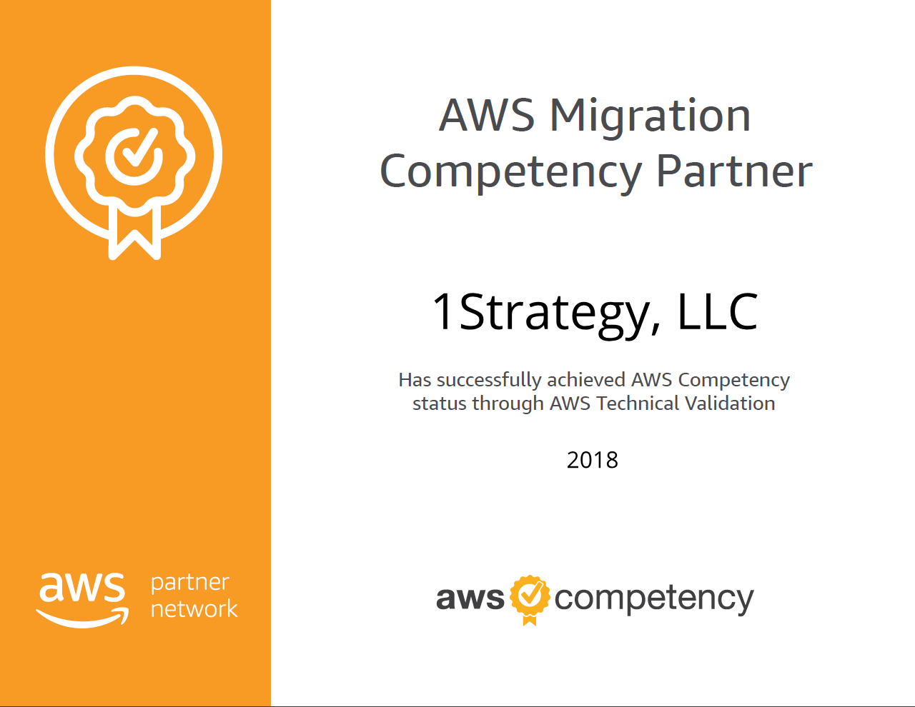 AWS Migration Competency – 1Strategy